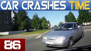 Car Crash Compilation - Accidents September 2015 #86 HD