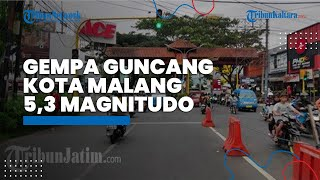 Gempa 5,3 Magnitudo Guncang Malang, Warga Blitar Berlarian ke Luar Rumah, Peserta Rapat Sempat Panik