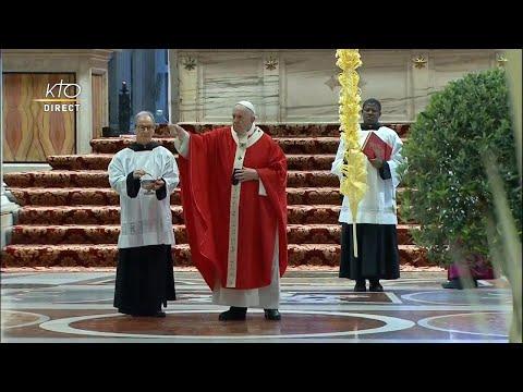 Messe des Rameaux à Rome et Angélus