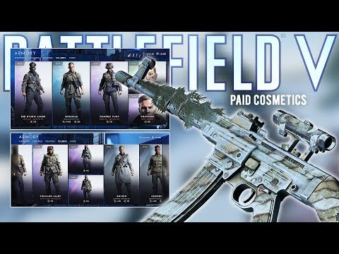 Buying everything in the Battlefield V Store