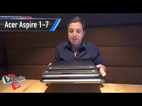 Acer Aspire 1, 3, 5, 7: Neue Notebook-Familie im Check