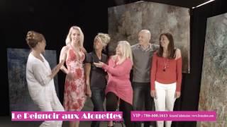 le peignoir aux alouettes, la première création en français à miami