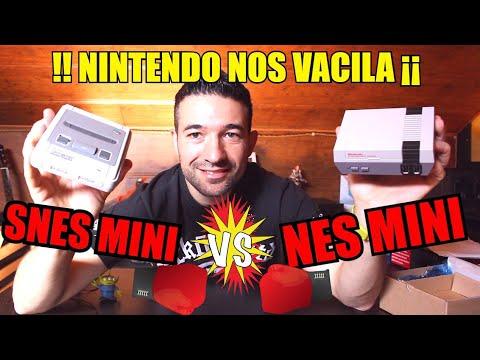 Snes Mini vs Nes Mini  - NINTENDO SE RIE DE NOSOTROS ¡¡??