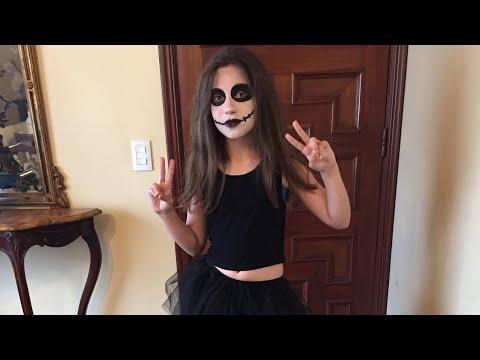 Disfraz de Zombie completo con maquillaje artístico