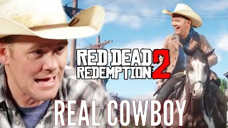 "A Real Cowboy Plays ""Red Dead Redemption 2"" • Pro Play"