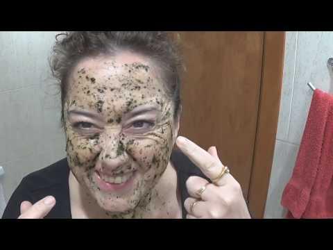 Mask sa mukha ng pollen