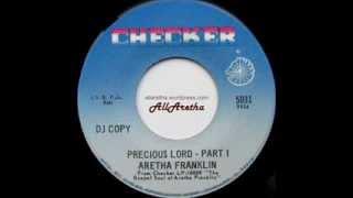 Aretha Franklin - Precious Lord (Part 1 & 2) - 7″ DJ Promo - 1967