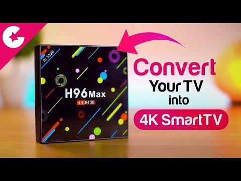 Convert Your Regular TV Into Smart TV With This Device - H96 Max Review!!