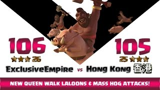 Clash of clans | Exclusive Empire vs HONG KONG | 26:25