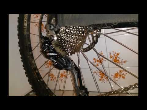 0c396c11652 SunRace CSMS3 wide range 11 42T cassette and Shimano Deore RD M610 Shadow rear  derailleur play