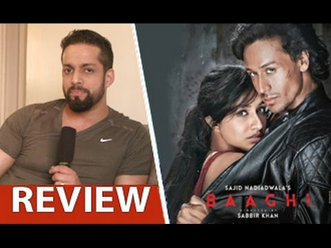 Baaghi-Review-by-Salil-Acharya-Tiger-Shroff-Shraddha-Kapoor-Sudheer-Babu-Full-Movie-Rating