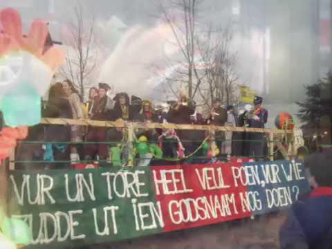 Carnaval 2009 Boerebrulluft en stukske optocht
