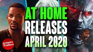 HOME RELEASE MOVIES APRIL 2020 | DIGITAL/DVD/BLURAY