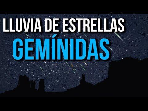 Lluvia De Estrellas Gemínidas que no te puedes perder este Diciembre 2019!