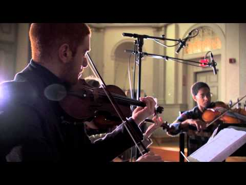 Shock & Awe, performed by The Four Corners Quartet. Composed by GoGo Penguin,