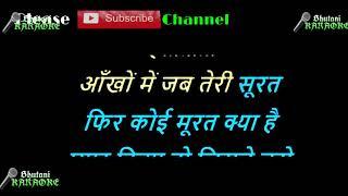 Main Tujhse Milne Aayi Karaoke with Scrolling lyrics - YouTube