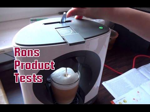 Krups KP 1101 Oblo Nescafé Dolce Gusto Kaffeekapselmaschine Unboxing Test
