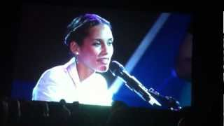 Alicia Keys - Not Even the King - live - Girl on Fire Album - CES 2013