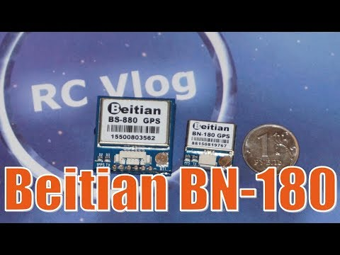 Beitian BN-180 Smallest Mini GPS. Betaflight GPS Rescue.