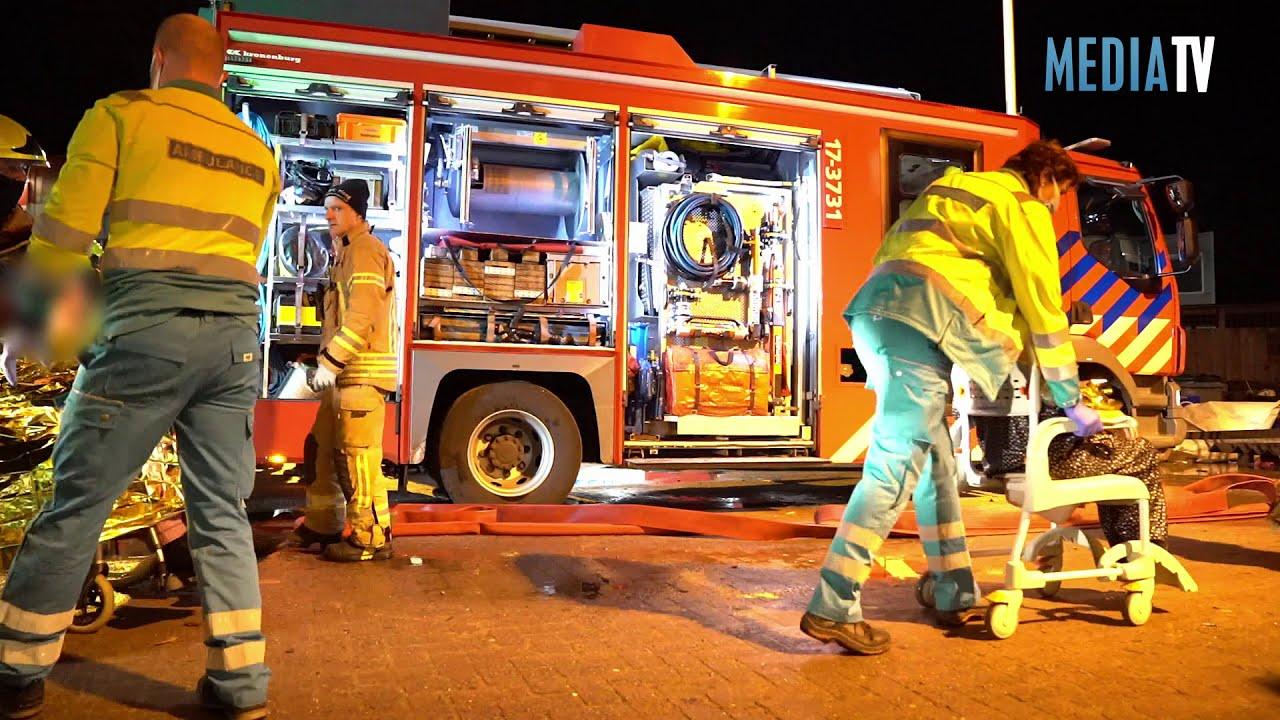 Zeer grote brand in verpleeghuis Aafje Smeetsland Rotterdam (GRIP 1)