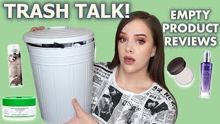 TRASH TALK | EMPTY PRODUCT REVIEWS | Makeup, Skincare & Haircare