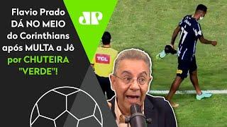 'Que pequenez': Flavio Prado critica Corinthians após multa em Jô por chuteira verde