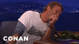 Chris Martin Loves His Fans…No Matter What They Yell At Him  - CONAN on TBS