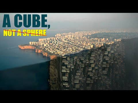 What If The Earth Was A Cube, Not A Sphere?