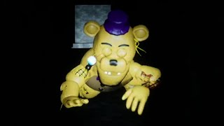 HUNTED BY A CRAWLING ANIMATRONIC MISSING ITS EYES.. | FNAF Five Nights at Fredbears 2