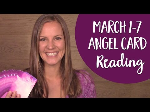 Free Angel Card Reading - Angel Messages for March 1-7 2017 with the Ask Angels Oracle Cards