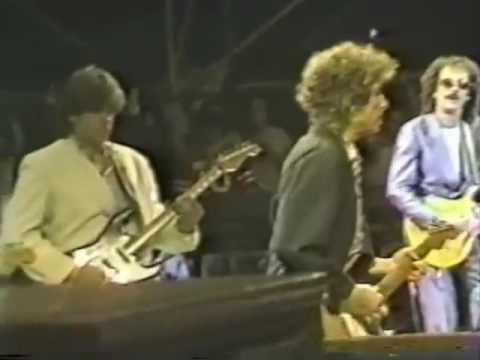 Bob Dylan Tombstone Blues 1984 Wembley ,Clapton, Santana, Taylor