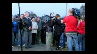 preview picture of video 'Taki Most można oglądac tylko w Gminie Błazowa jadąc do  Kąkolówki  Tvn-24 interwencje 2008r'