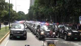Antiextorsion y secuestros recibe 100 vehiculos para el combate al Hampa