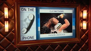 Packers LB Clay Matthews & Rich Eisen Talk Game of Thrones, Lambeau Leaps & More | Full Interview