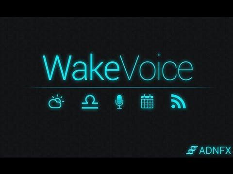 Vidéo WakeVoice Trial ★ réveil vocal