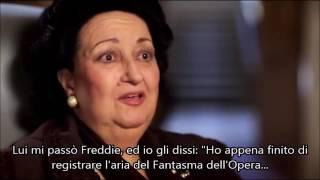 MONTSERRAT CABALLE'   L'ULTIMA VOLTA CHE HO PARLATO CON FREDDIE