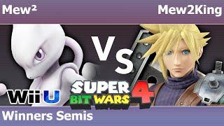 SBW4 Smash 4 - Mew² (Mewtwo) vs COG MVG | Mew2King (Cloud) - Winners Semis