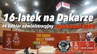 16-latek na Dakarze - Eryk Goczał Vlog | Dakar Rally 2021 odcinek 4