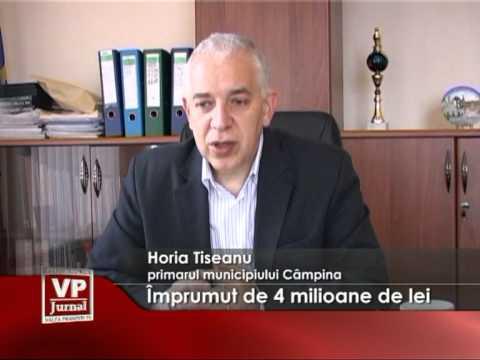 Împrumut de 4 milioane de lei