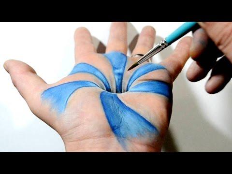 Ressamın Muhteşem 3 Boyutlu Çalışması
