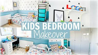 OUR LITTLE BOYS BEDROOM MAKEOVER | LOGANS NEW ROOM | Alex Gladwin