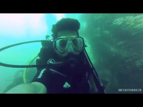 Amazing travel underwater – scuba diving