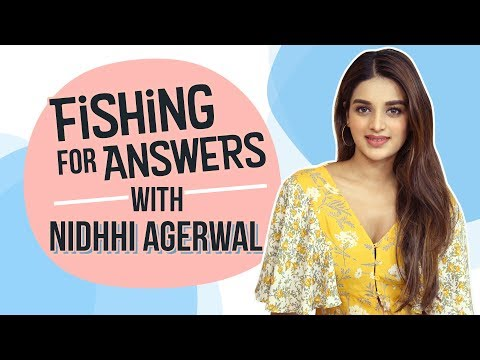 Nidhhi Agerwal plays fishing for answers with Pinkvilla | Bollywood | Pinkvilla
