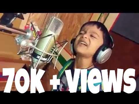 zingat Song Sing By A Little Boy LIke a Ajay Atul