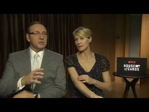 House of Cards: Interview with Kevin Spacey, Robin Wright & Michael Kelly