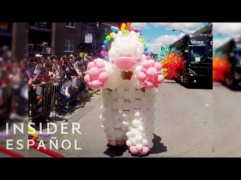 Disfraces de globos ponibles con forma de animales
