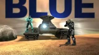 Red Vs. Blue Season 4 Intro. Blood Gulch Blues (Bloody Mix) by Trocadero