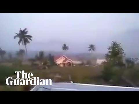 Apocalyptic Scenes In Indonesia After Earthquake And Tsunami Hit Sulawesi