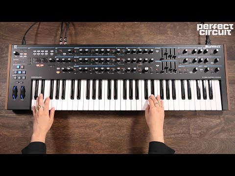 Novation Summit Synthesizer, It's Two Peaks And More