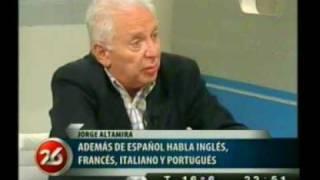 25 Octubre 2010  Jorge Altamira Con Roberto García En Canal 26  Primera Parte